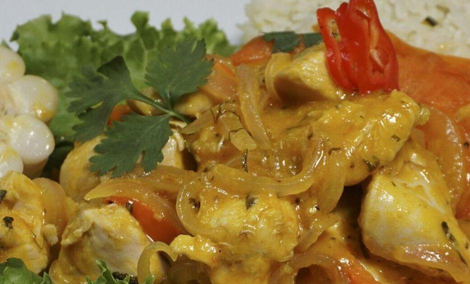 Ceviche de pollo. (Foto: A comer)