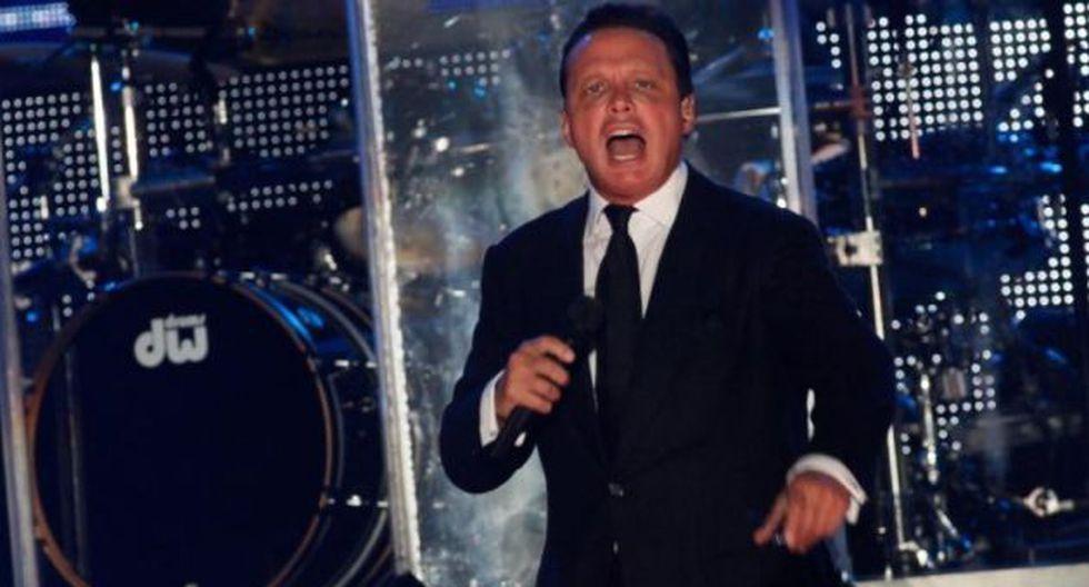 """Luis Miguel cautivó en el primer concierto en Chile de su gira """"¡MÉXICO Por siempre!"""". (Foto: AFP/Referencial)"""