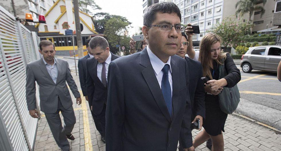 Germán Juárez dijo que sí trataron de infiltrar su despacho a través de Alexander Taboada. (Foto: EFE)