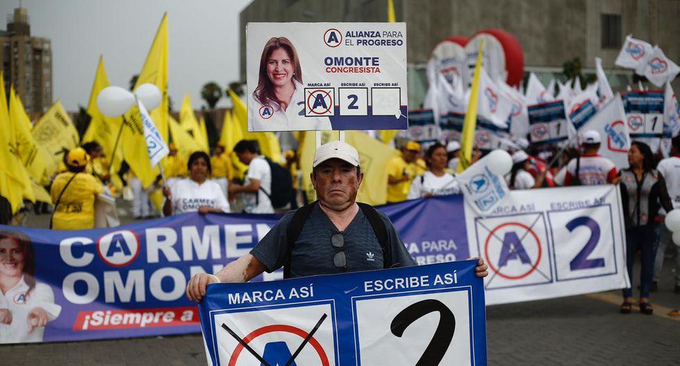 Simpatizantes de Alianza para el Progreso. (Foto: Joel Alonzo / GEC)