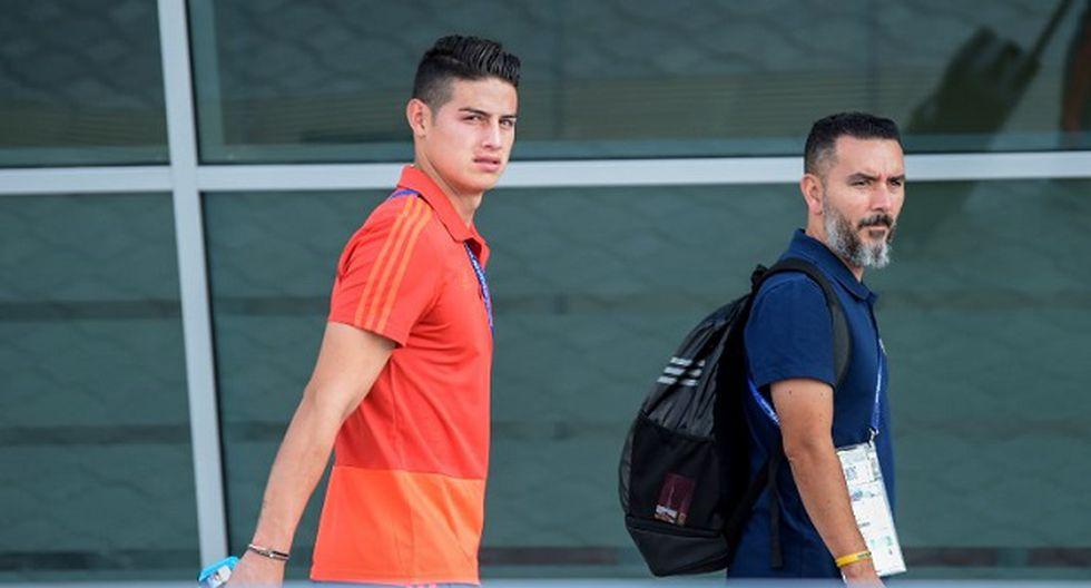 James Rodríguez sería la nueva opción del Bayern Munich, pero la atención se centró en el titular de The Sun (Foto: AFP)
