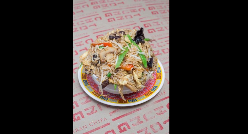 Chaufa vegetariano. (Difusión Chung Tong )