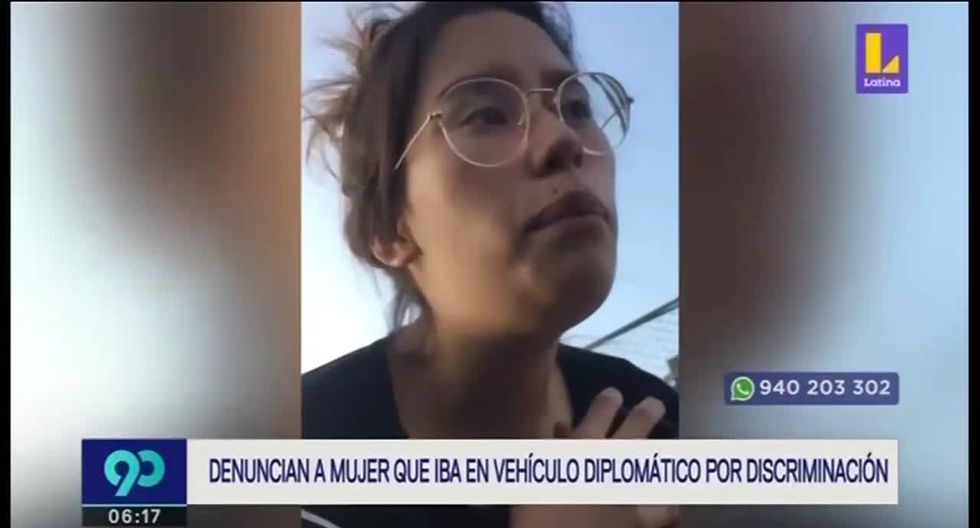 Mariana Kagami Higa es denunciada por discriminar a la familia de Valeria del Pilar Villanueva. (Foto captura: Latina)