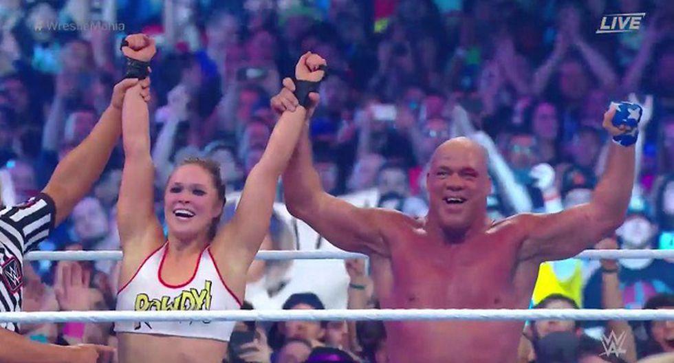 Así fue el debut de Ronda Rousey (Foto: Captura de pantalla)