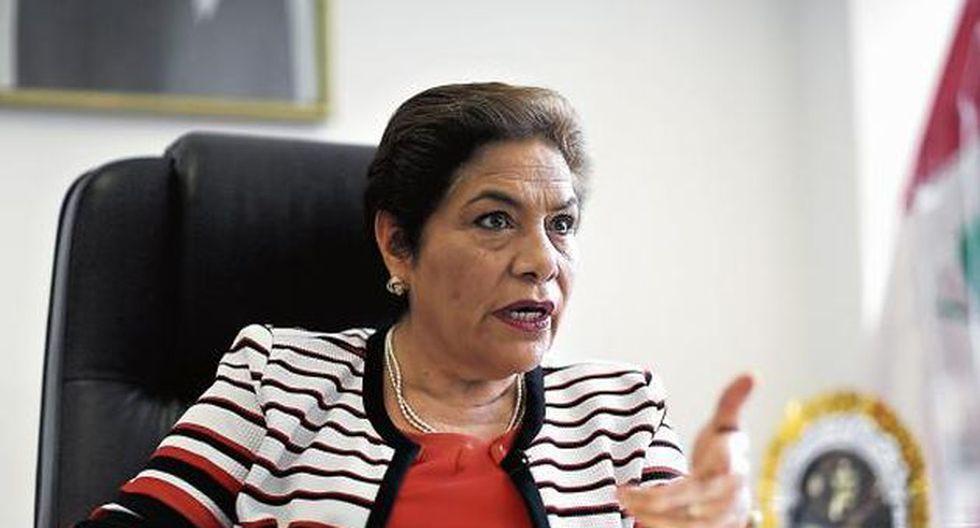 La congresista Luz Salgado le recomendó al presidente Martín Vizcarra no regirse de las encuestas. (Foto: GEC)