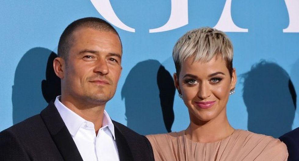 Katy Perry y Orlando Bloom habrían confirmado su compromiso con esta imagen. (Foto: EFE)