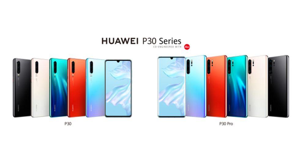 Huawei presentó sus nuevos modelos de la serie P.