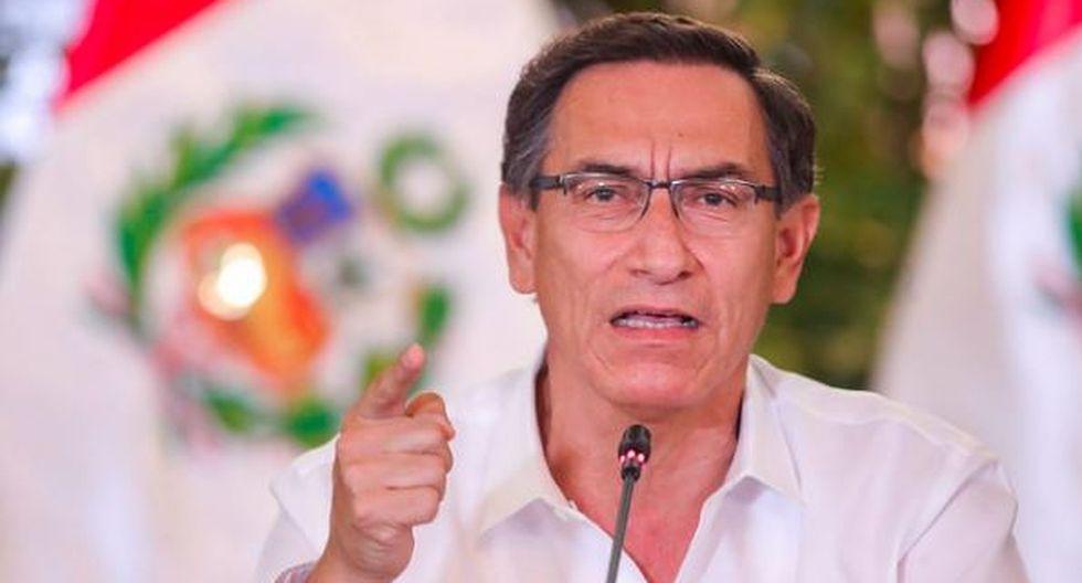 Martín Vizcarra. (Foto: Presidencia)