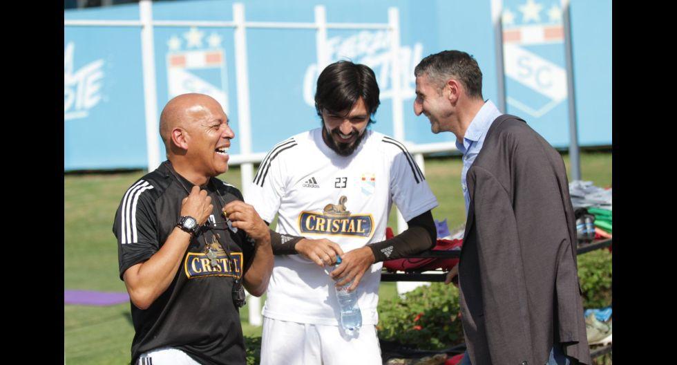 Las postales del primer entrenamiento de Sporting Cristal al mando de Roberto Mosquera. (Foto: Sporting Cristal)