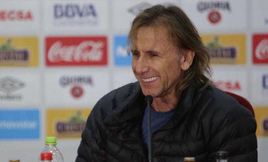 Ricardo Gareca tiene todo listo para firmar su renovación al frente de la selección peruana. (Andina)