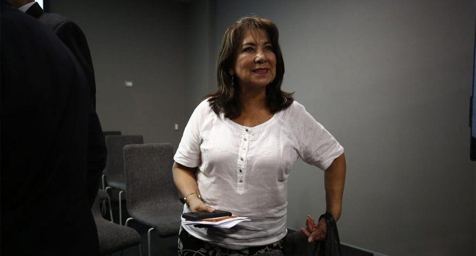 El relanzamiento de Fuerza Popular permitió ver a rostros conocidos del fujimorismo, como Martha Chávez. (Foto: Piko Tamashiro / GEC)