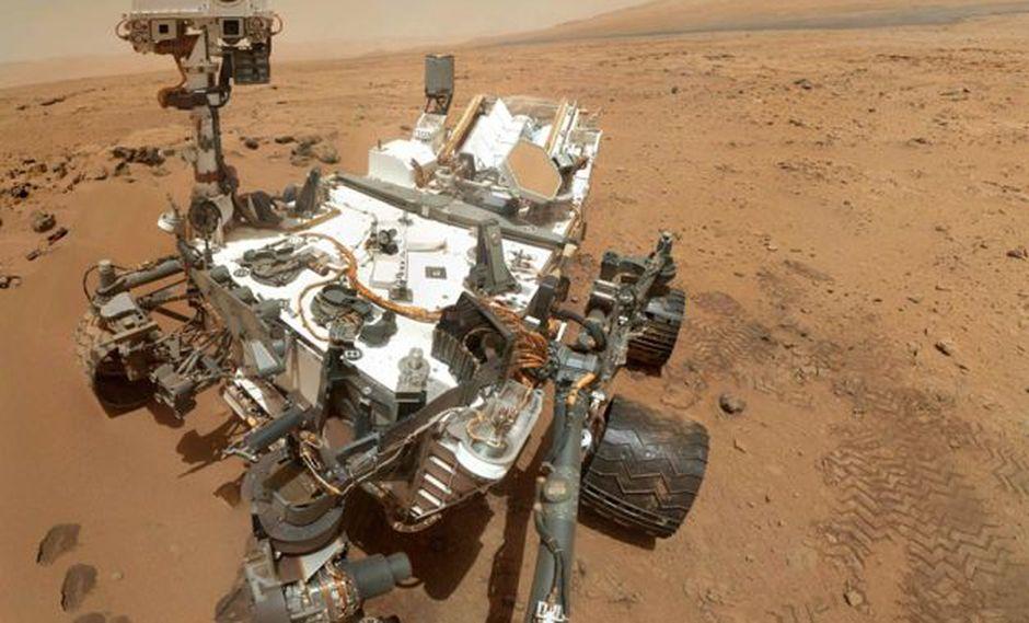 Curiosity perforó su segundo agujero en Marte