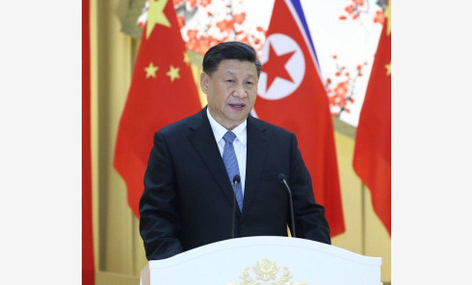 Xi Jingping pide nuevo desarrollo de las relaciones China-RPDC en una nueva era