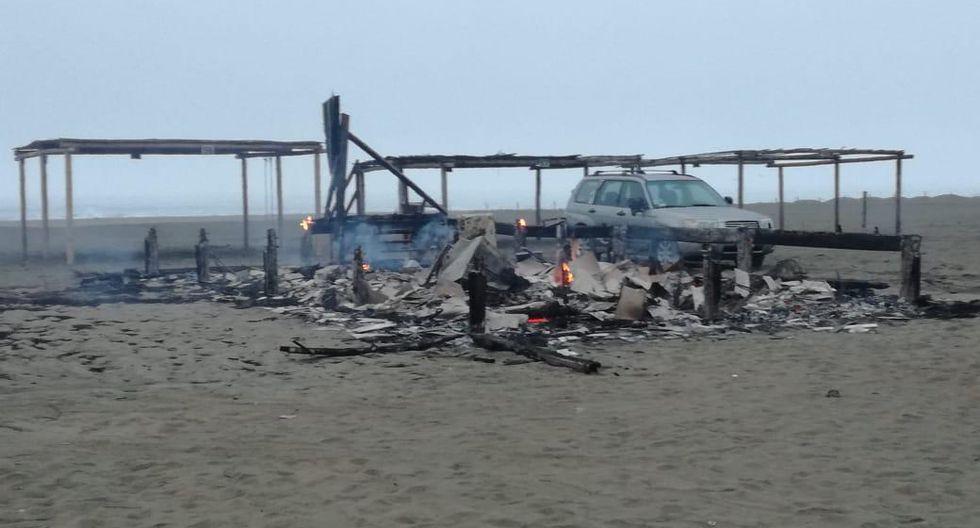 El cuerpo fue encontrado cerca de la Asociación Campistas de Sarapampa. (Foto: Difusión)