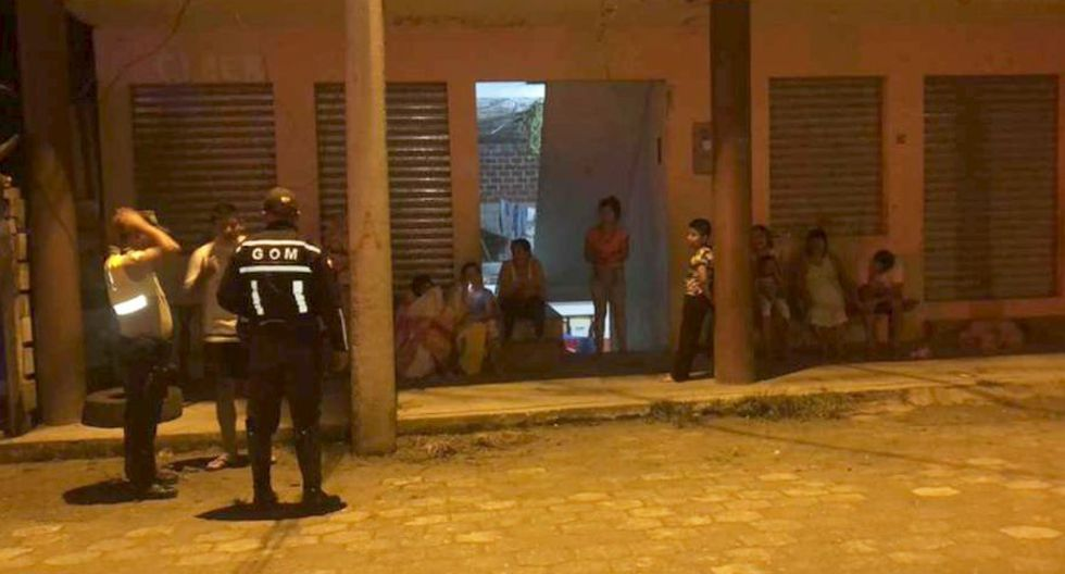 Potente sismo en Loreto deja al menos 7 heridos en varias provincias de Ecuador. (Policía Nacional de Ecuador)