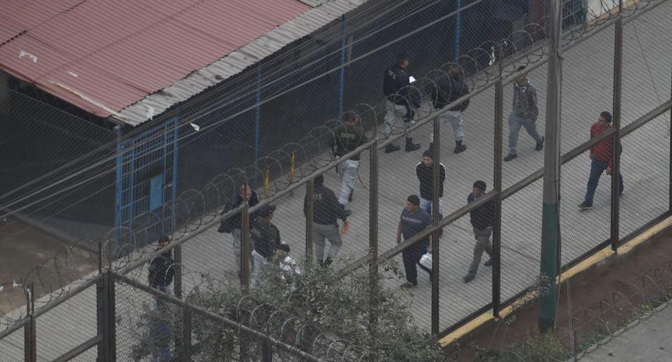 Más de 100 agentes del Grupo de Operaciones Especiales del INPE intervinieron el lugar. (Fotos: César Campos)