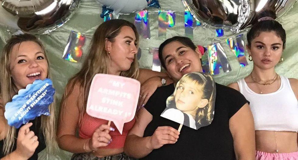 Selena Gomez estuvo en la fiesta de cumpleaños de Theresa Mingus. (Foto: theselenarundown)