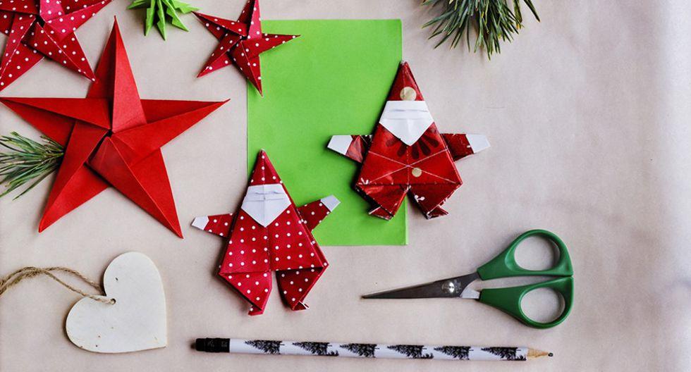 ¿Cómo decorar en Navidad con objetos caseros?