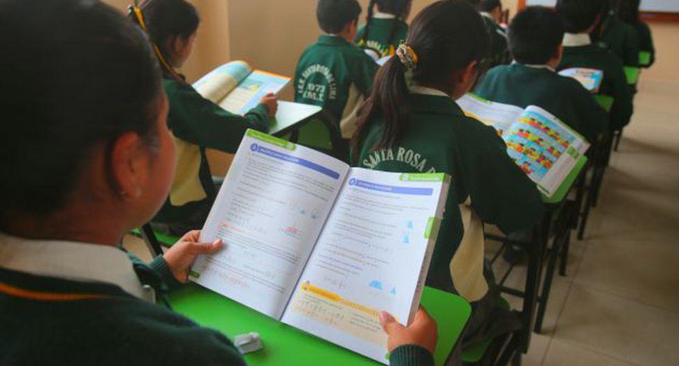 Según PISA hemos avanzado en comprensión lectora en un 5,2 puntos anuales. (Foto: USI)