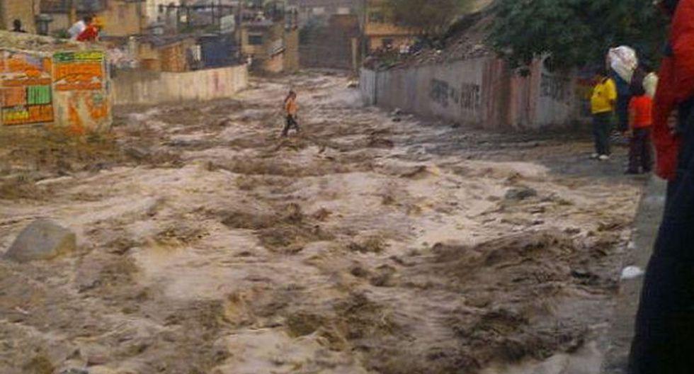 Las intensas lluvias suelen registrarse en la tarde y en la noche. (Foto: USI)