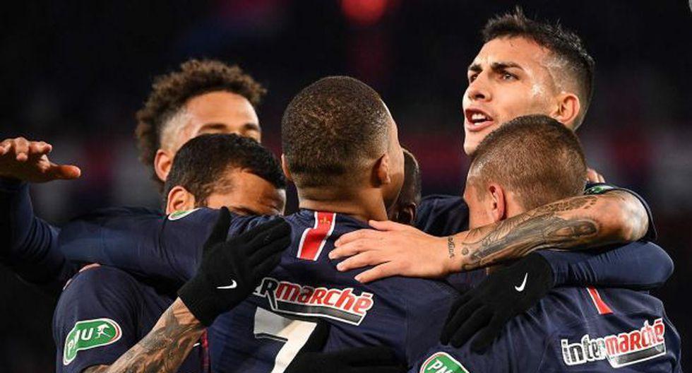 PSG consiguió su octavo título liguero en el torneo francés. (Foto: AFP)