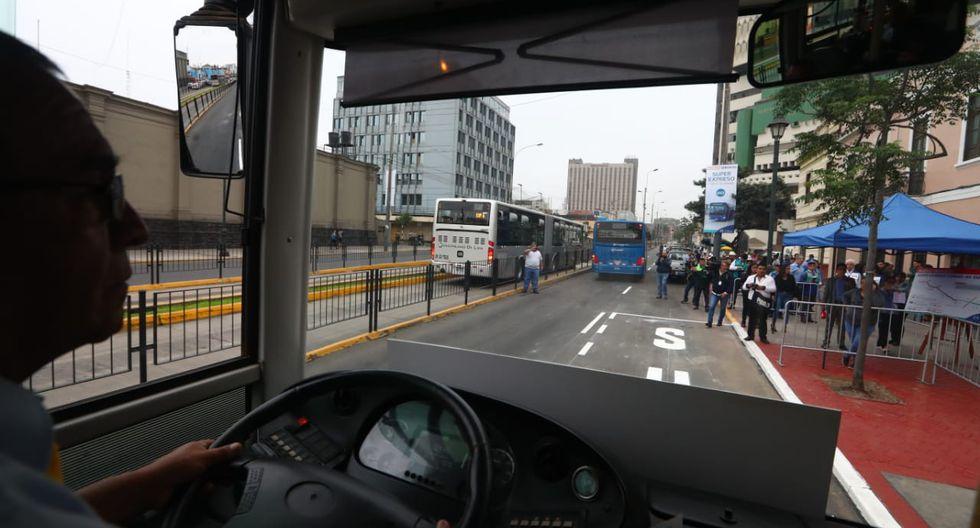 El nuevo servicio súper expreso hará su recorrido en 45 minutos y contará, en el sentido de ida, con tres paradas para el abordaje de pasajeros. (Foto: Alessandro Currarino)