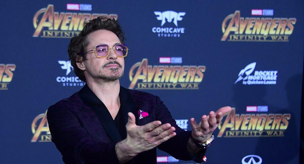 Robert Downey Jr., el primer avenger en la lista, ocupa el tercer lugar con 81 millones de dólares (Foto: AFP)