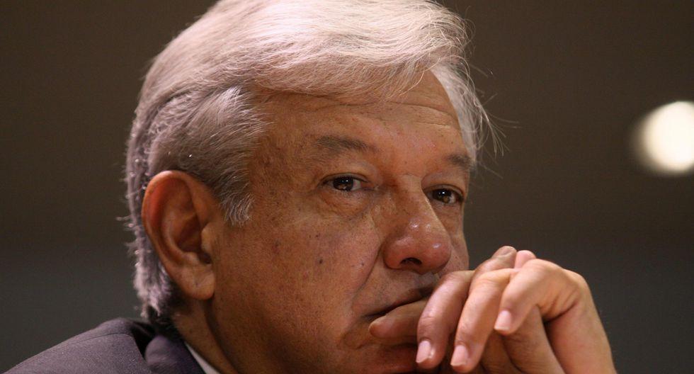 """Andrés Manuel López Obrador:""""No queremos violencia de ninguna parte. Somos partidarios de la no violencia"""". (Foto: EFE)"""