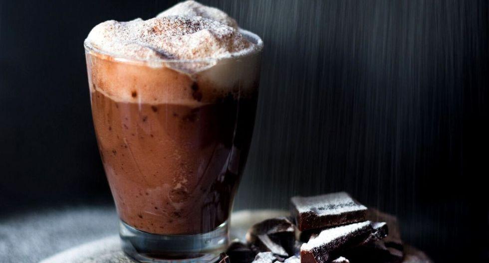 Chocolate navideño helado. (Foto: 4D)