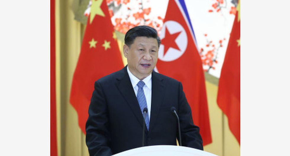 Xi Jingping, presidente de China busca profundizar relaciones con Corea.