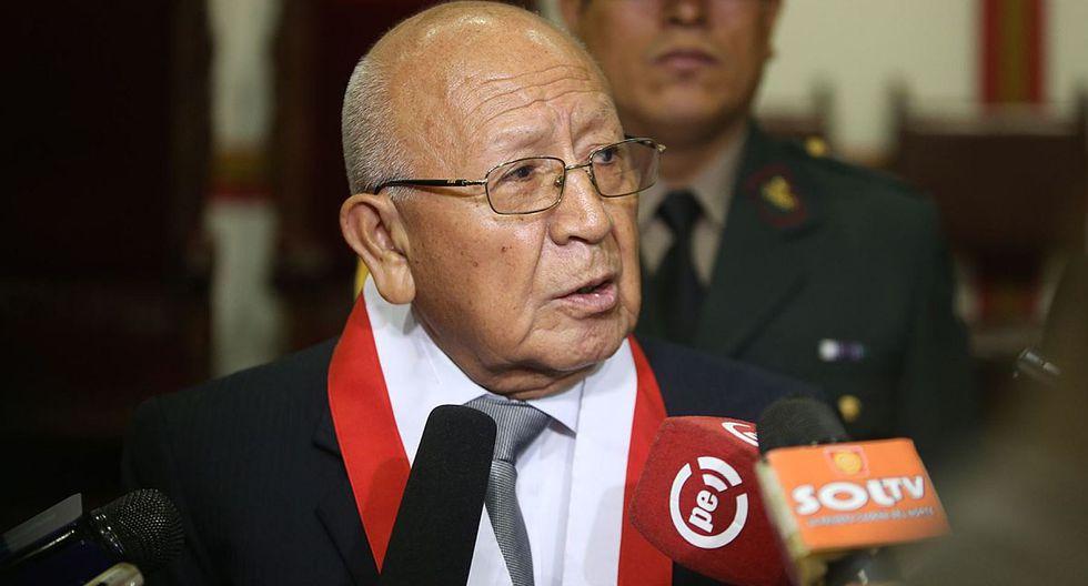 El magistrado Manuel Miranda, del TC, dijo que votará a favor de rechazar la demanda competencial de Pedro Olaechea. (Foto: Andina)