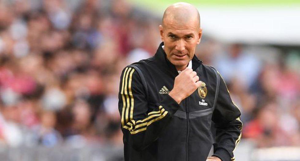 Zinedine Zidane es entrenador de Real Madrid desde marzo del presente año. (Foto: AFP)