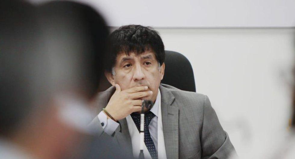 El juez de investigación preparatoria, Richard Concepción Carhuancho, decidió suspender la audiencia de control de acusación contra Ollanta Humala. (Foto: Difusión)
