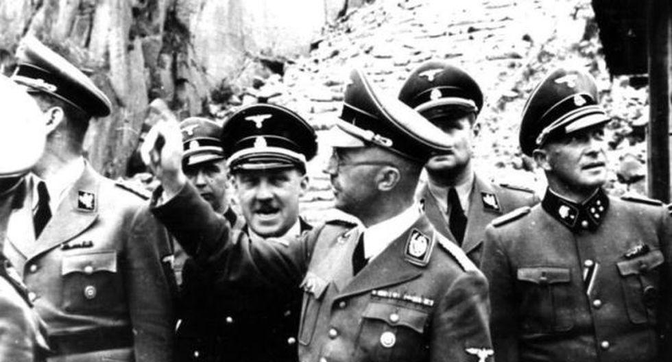 Heinrich Himmler junto a otros oficiales nazis (Foto: German Federal Archives)