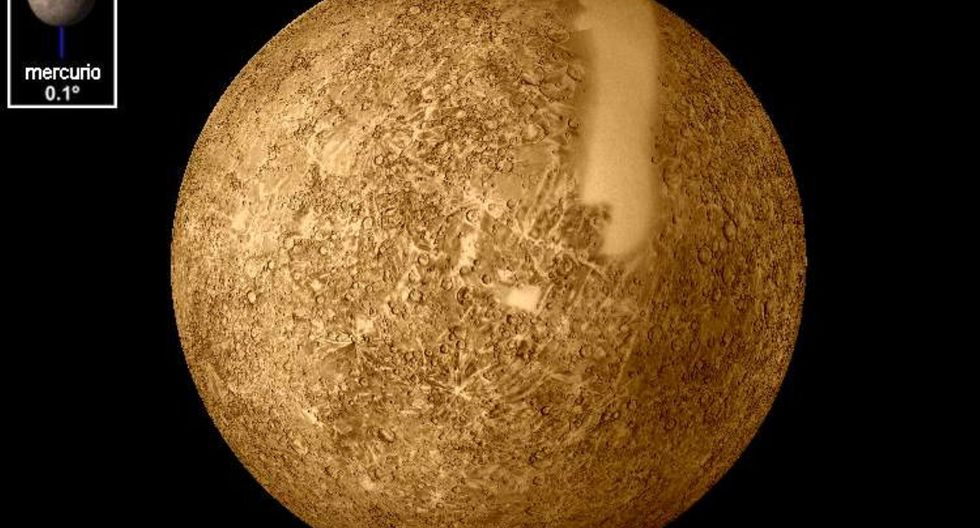 Tránsito de Mercurio se verá en vivo este lunes 11 de noviembre hasta la 1:04 de la tarde.  Foto: Andina