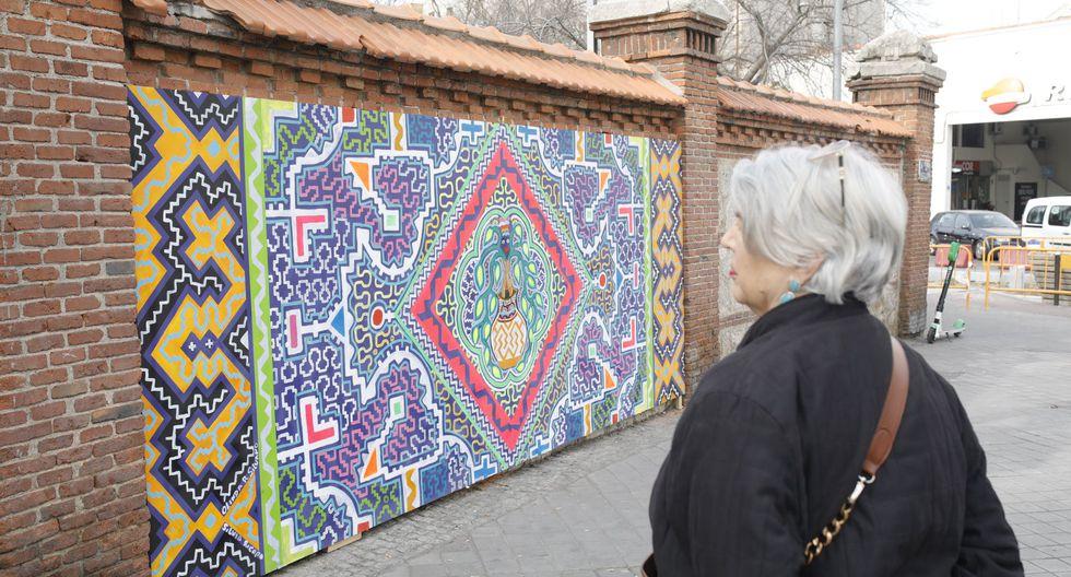 El colorido arte shipibo llama la atención de los europeos. (Foto: Marca Perú)