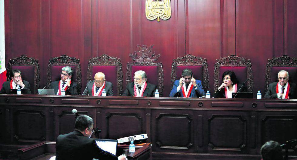 El TC, por mayoría, decidió declarar improcedente el pedido de aclaración sobre el fallo que anuló la prisión preventiva contra Keiko Fujimori. (Foto: GEC)