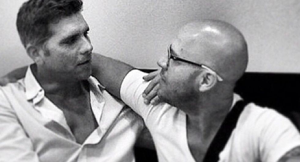 """Christian Meier y su emotivo mensaje de cumpleaños a Gian Marco: """"Hoy celebro su vida y su presencia en la mía. Feliz cumpleaños"""". (Foto: @oliverdog)"""