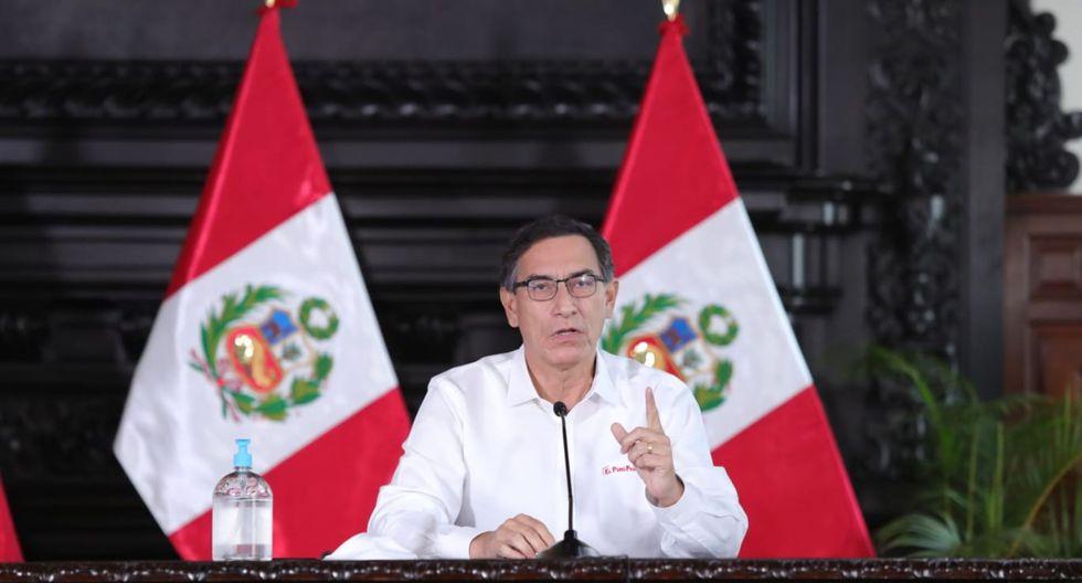 El presidente Martín Vizcarra reiteró que para fines de junio la meta es llegar a tener 20 mil camas hospitalarias. (Foto: Presidencia)