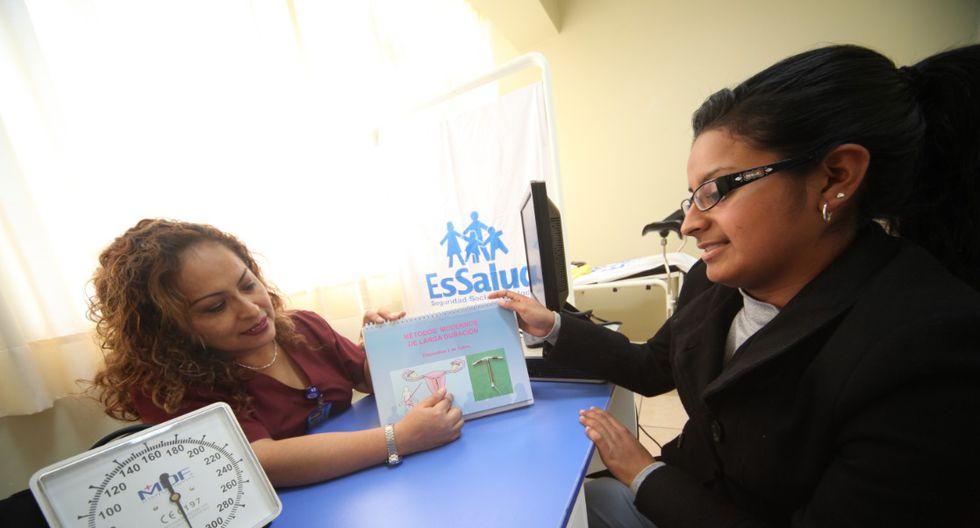 Detalló que las pacientes detectadas con algún indicio de la enfermedad serán derivadas a los hospitales Luis Negreiros y Alberto Sabogal (Callao). (Foto: EsSalud)