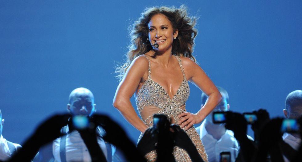 Jennifer Lopez se alista para presentar número musical en el uper Bowl LIV. (Foto: AFP)