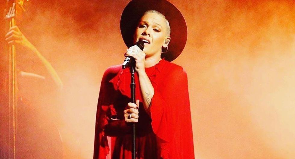 Cantante Pink ofreció su ayuda para fondos contra el coronavirus. (Foto: @pink)