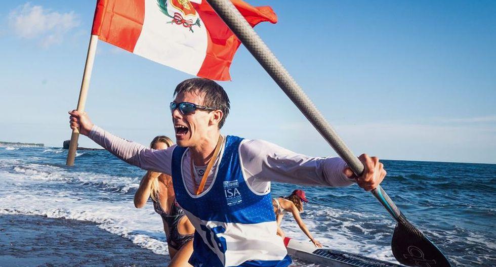 Itzel Delgado gana nueva medalla para Perú en surf. (Foto: IPD)