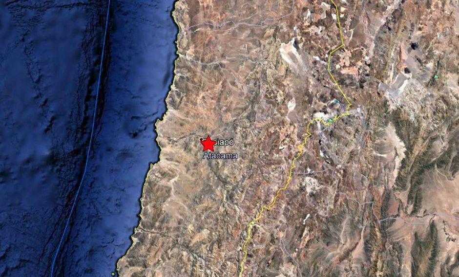 Chile: Sismo de magnitud 5,4 sacude las regiones de Atacama y Antofagasta
