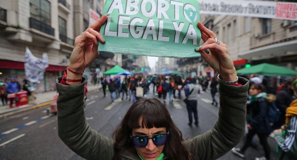 La Campaña Nacional por el Derecho al Aborto Legal, Seguro y Gratuito presentará en la tarde el proyecto de ley en el Congreso. (Foto: