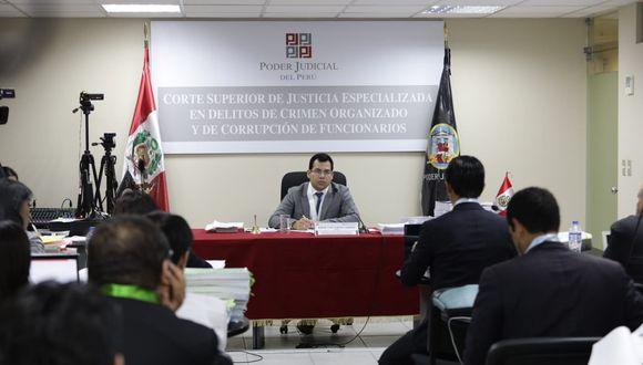 El juez Jorge Chávez Tamariz dispuso que la sesión se retome el 3 de enero. (Foto: Anthony Niño de Guzmán / GEC)