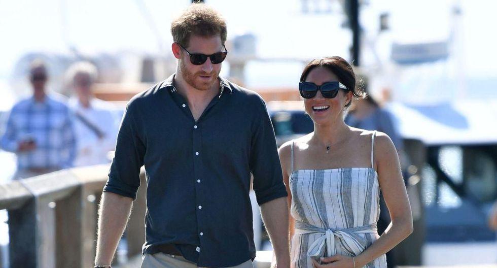Primogénito del Príncipe Harry y Meghan Markle podría nacer en las próximas horas. (Foto: AFP)