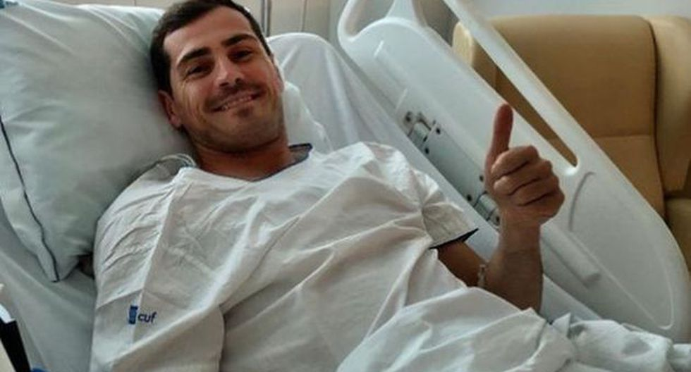 Casillas sufrió un infarto el pasado 1 de mayo cuando entrenaba. (Foto: @IkerCasillas)