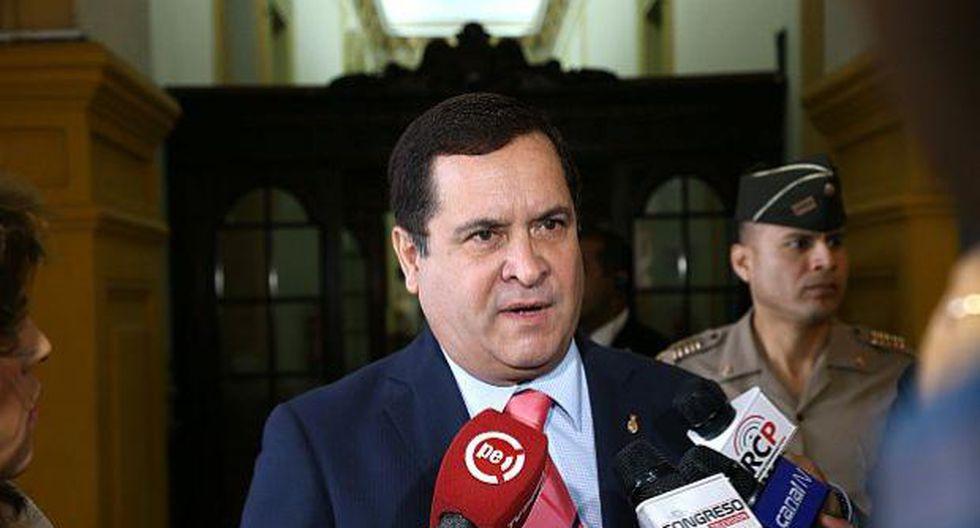 Luis Iberico fue congresista de la República en dos periodos (2001-2006 y 2011-2016). (Foto: GEC)
