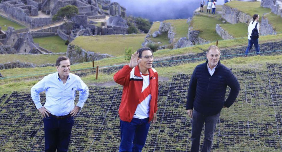 El evento se realizó en la ciudadela de Machu Picchu, en Cusco. (Foto: Presidencia)